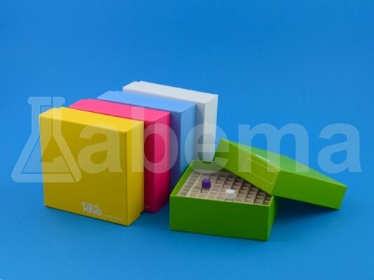 Pudełko kartonowe, 100-miejscowe, kolorowe