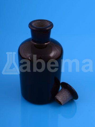 Butelka na odczynniki (sztand), oranż, wąska szyja