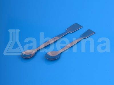 Łyżeczko-szpatułka chemiczna ze stali nierdzewnej