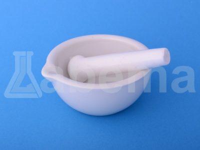 Moździerz porcelanowy z tłuczkiem (pistelem)