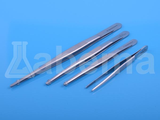Pinceta (pęseta) ze stali nierdzewnej, zaokrąglone końce