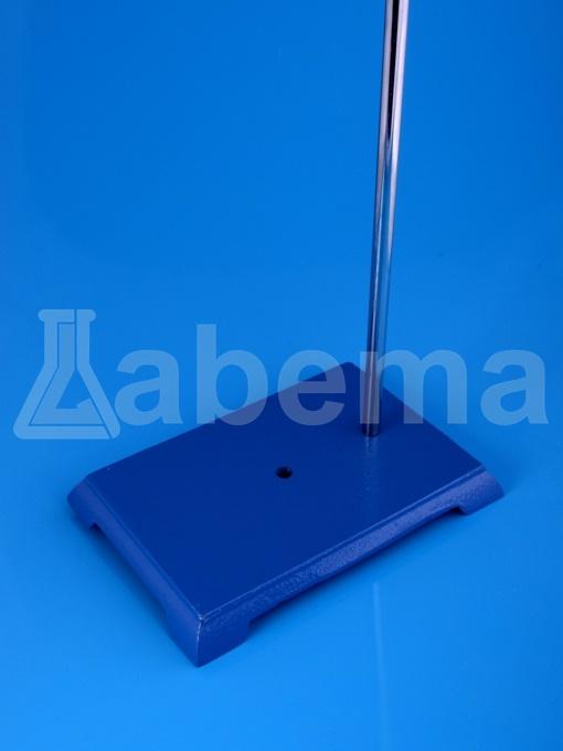 Statyw laboratoryjny z prętem, podstawa prostokątna