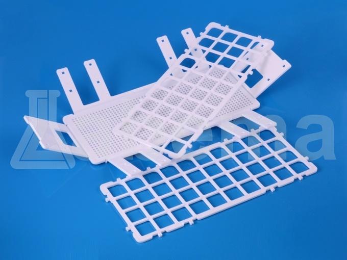 Statyw na probówki składany, plastikowy (PP)