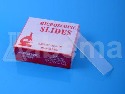 Szkiełka mikroskopowe - podstawowe, szlifowane